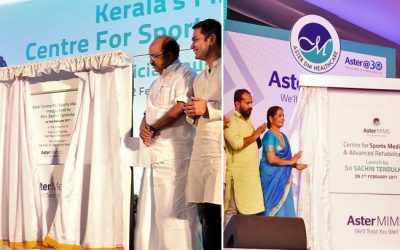 Aster forays into Sports Medicine with two advanced centres in Kerala