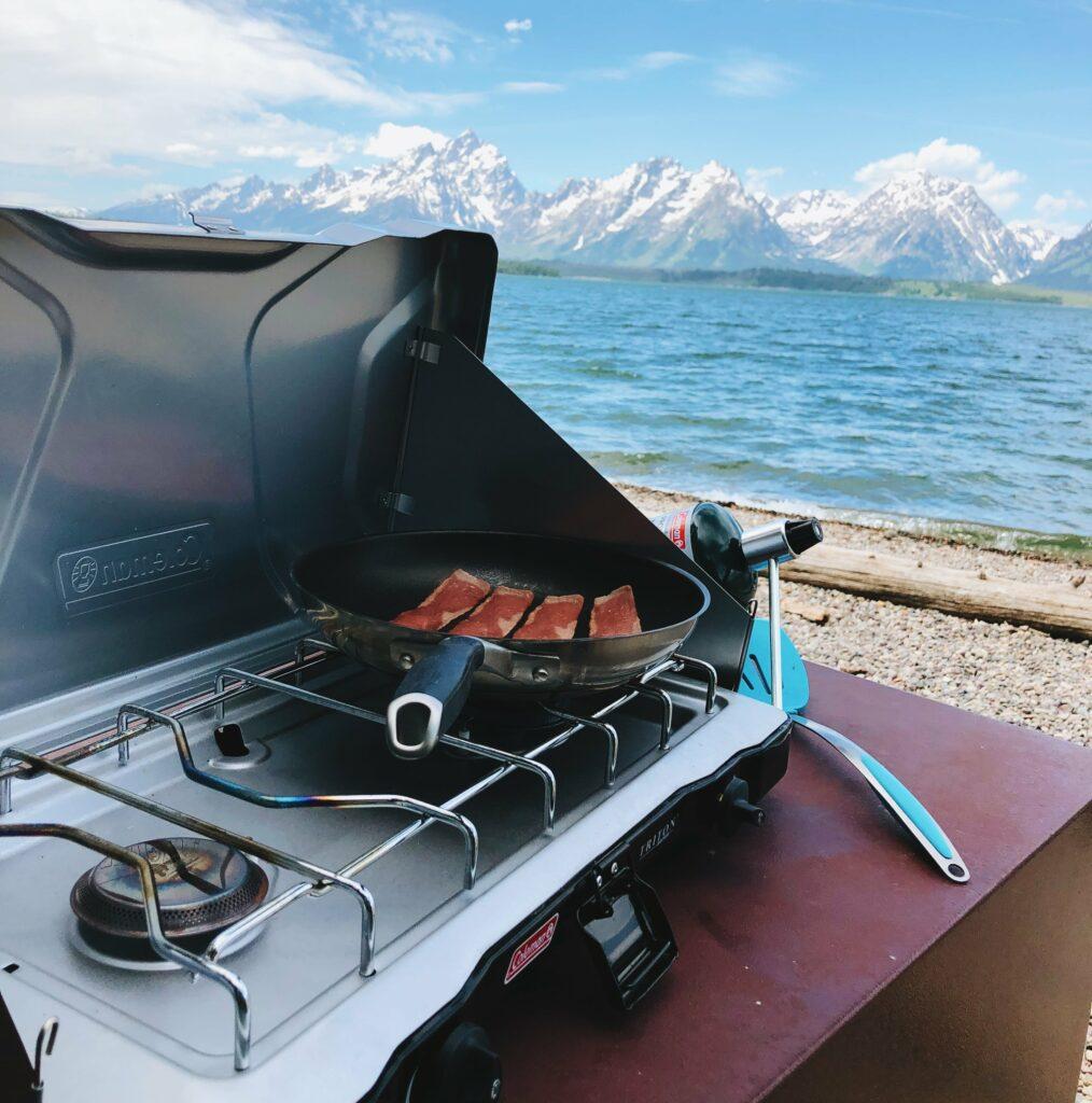 frying bacon mountain view