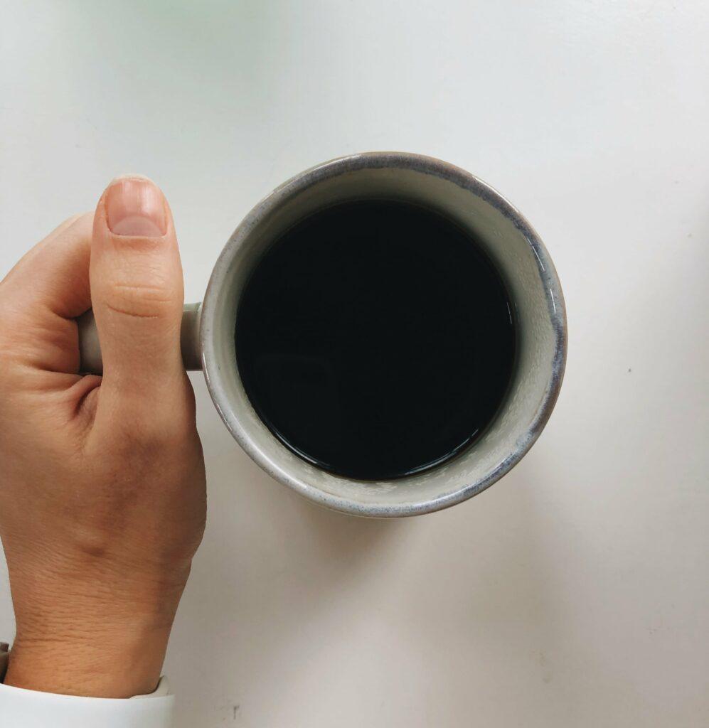 Morning Coffee: Black. No cream, no sugar.
