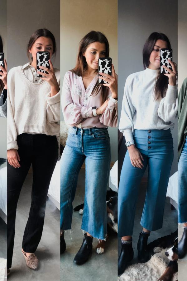 Style Guide: 1 Work Week of Business Casual Office Wear