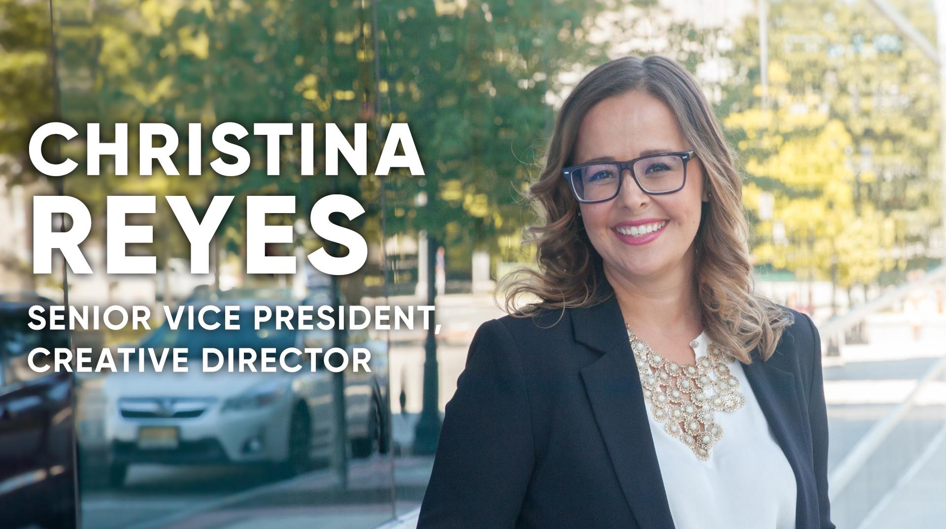 Christina Reyes, senior vice president and creative director at Copy & Art