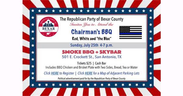 Chairman's BBQ Invitation