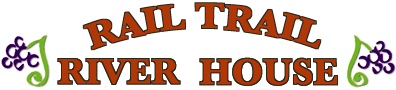 Rail Trail River House Logo