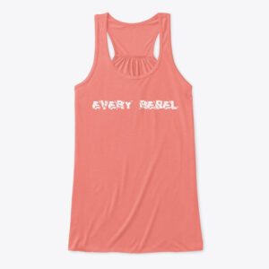 Every Rebel Traditional Flowy Tank top.