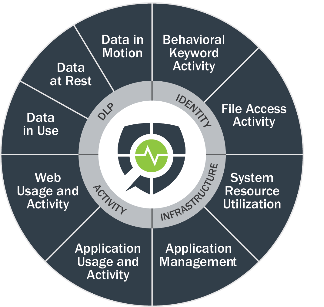 innerView, endpoint, eView, Data Loss Protection DPL Insider Threat Management,