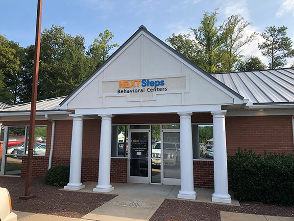 Next Steps Behavioral Centers Midlothian location outside