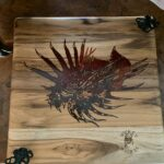 Wicked Waters Custom Charcuterie, Serving,and Cutting Boards.