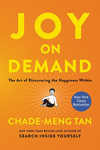 I'm a huge believer in finding your joy and this book is about just that.  Tan worked at Google and incorporated many of these practices with co-workers there.
