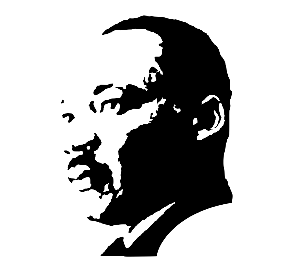 SVG PEOPLE - Martin Luther King