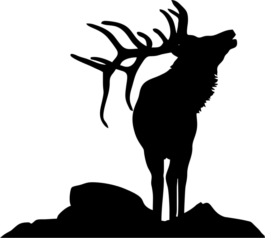 SVG Animals - Bull Elk