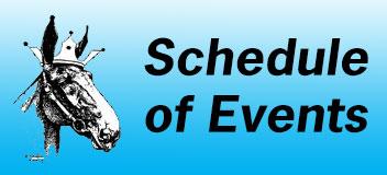 2020 Schedule of Events