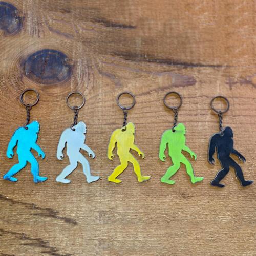 Bigfoot-Keychain