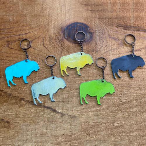 Buffalo-Keychain