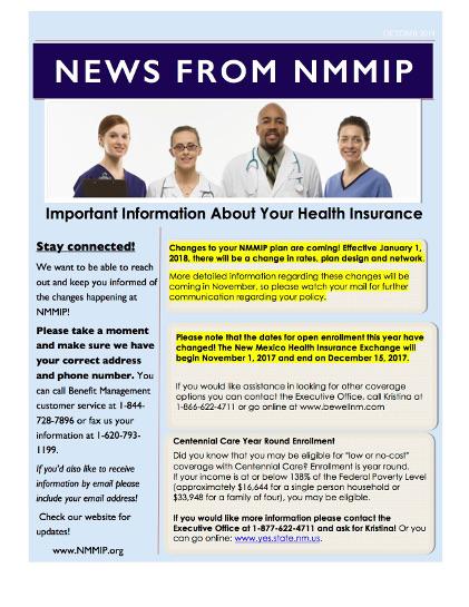 NMMIP Newsletter 2017
