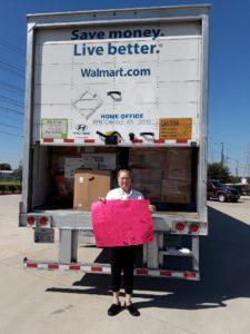 Donation Drive Truck