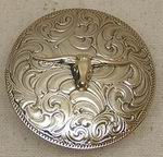 Smooth Concho with Steerhead