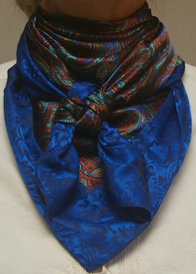 Cowboy  Images Combo Scarf