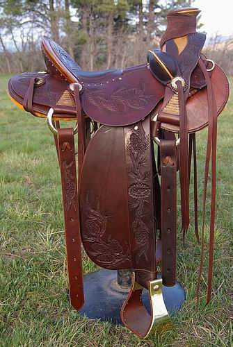 TB Vaquero Wade Saddle