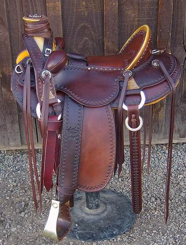 JC Vaquero Wade Saddle