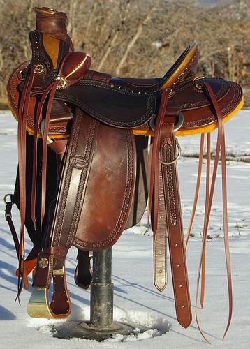 RH Vaquero Wade Saddle