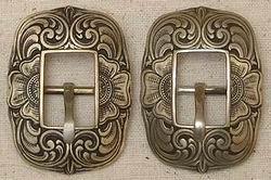 John Mincer Center Bar Buckle Brass/Bronze