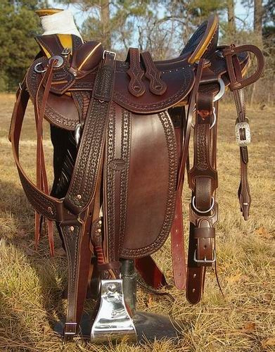 Charlie Wells DOA Stock Saddle