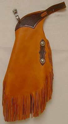 #217 Chinks El Paso Antiqued Conchos