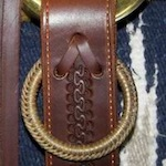 Hobble ring on saddle