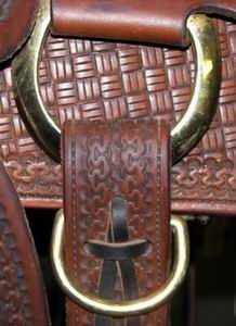 Hobble Ring on Saddle
