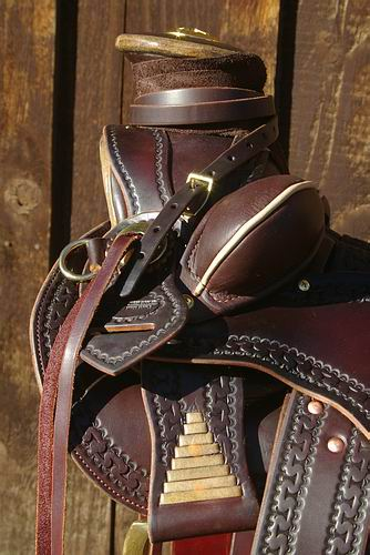 J. A. Cummins DOA Stock Saddle