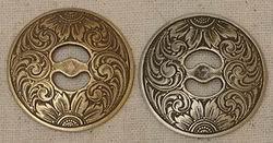 John Mincer JM13 Concho Brass/Bronze