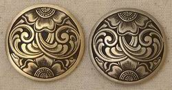 JM Brass or Bronze Concho