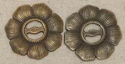 John Mincer JMF-6 Wildflower Concho Brass/Bronze