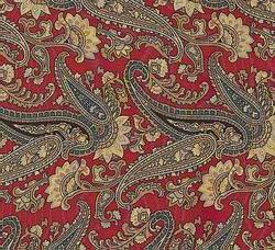 Cowboy Images Red Paisley