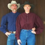Old West Clothing pioneer riding shirt