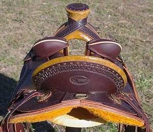 Out West Saddlery Walnut Stock Saddle