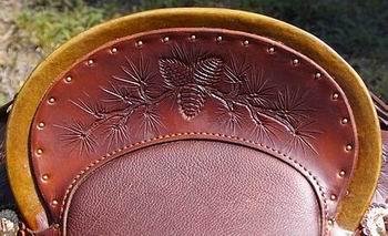 BC Vaquero Wade Saddle