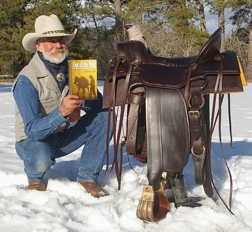 Saddle built for the movie Out Of The Wild