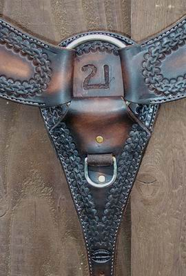 Heavy Roper Style Breast Collar