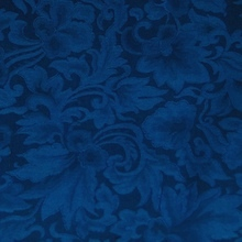 Cowboy Images Royal Blue Jacquard