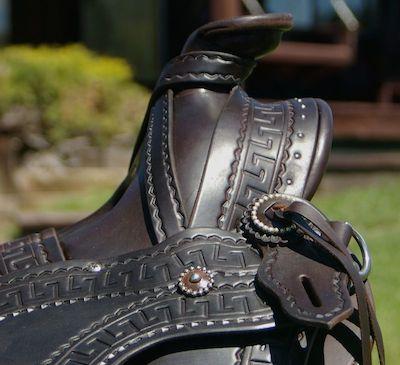 Ladies Astride Saddle #76