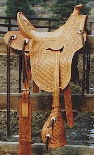 Ladies Astride Saddle