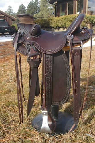 78 Stock Saddle - Beth Varga