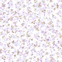 Wyoming Trader Calico White & Lavender