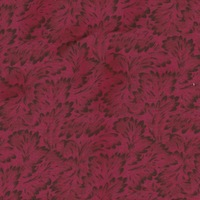 Wyoming Trader Calico Red Leaves