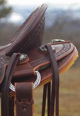 Robin Kirwin XW Walnut Stock Saddle