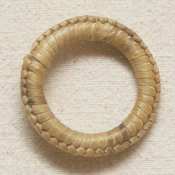 Rawhide covered Ring