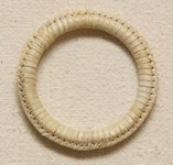 Natural Rawhide Covered Hobble Ring