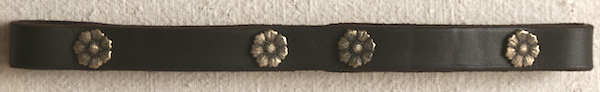 Curb Strap with conchos