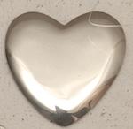 """Polished 3"""" Heart Concho"""